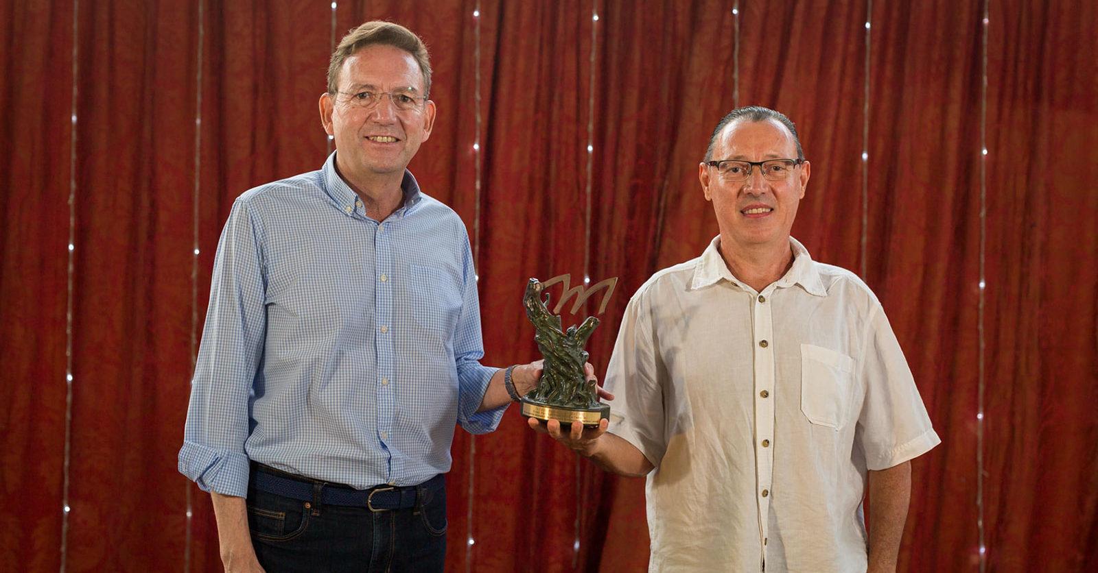 Canal 56 és guardonat amb el premi Pere Labernia durant la 7a edició dels Premis Maestrat Viu