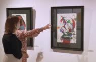 """Inauguració de l'exposició """"De Picasso a Barceló"""" - Obra gràfica i múltiple contemporanis"""" al MUCBE de Benicarló 10-09-2020"""
