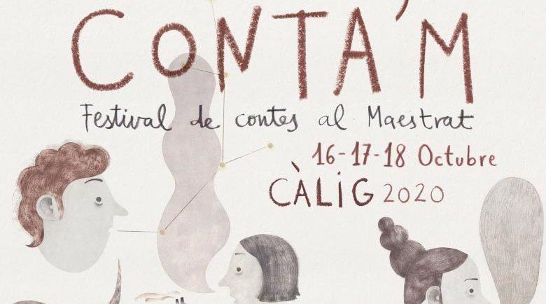 Maestrat Viu publica la programació del Festival Conta'M que se celebrarà del 16 al 18 d'octubre a Càlig