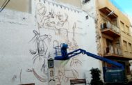 Els Serveis Socials de Benicarló promou la igualtat i la multiculturalitat amb un gran mural al carrer del Riu