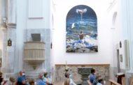 Presentació del quadre de baptisme  de l'església Santa Maria de Peníscola 11-09-2020
