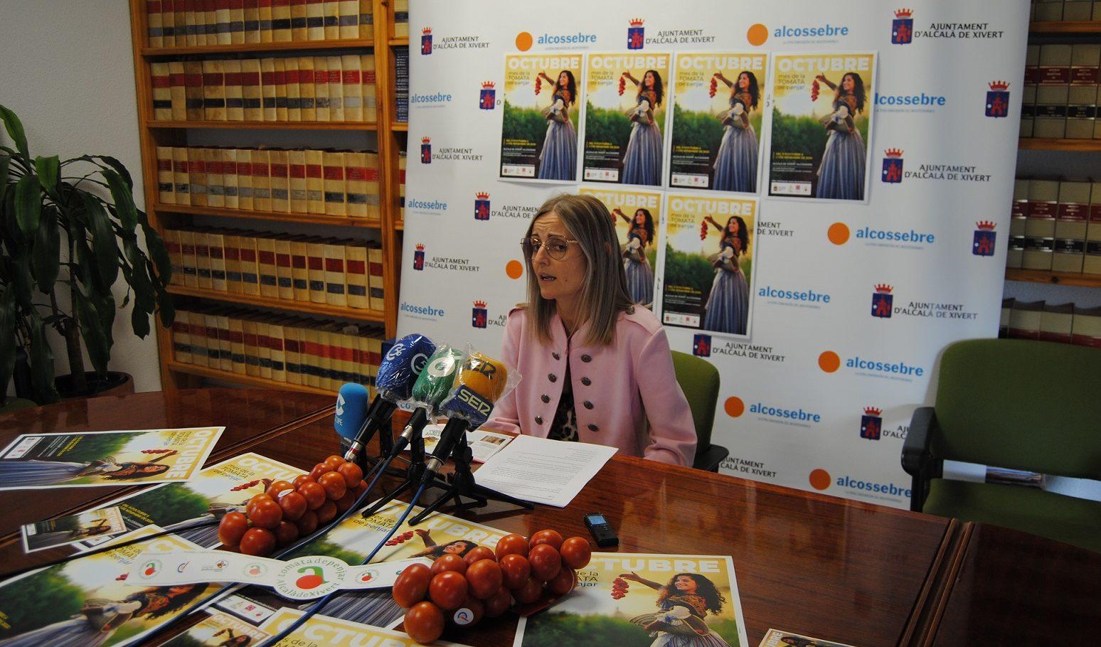 """L'Ajuntament d'Alcalà-Alcossebre presenta """"Octubre, Mes de la Tomata de Penjar"""""""