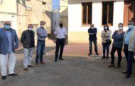 El director general d'Agricultura visita les obres del camí que uneix Santa Magdalena i La Salzadella