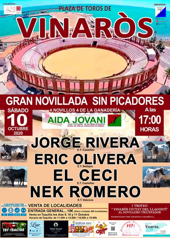 La plaça de bous de Vinaròs serà escenari de la tornada dels bous a la Comunitat Valenciana