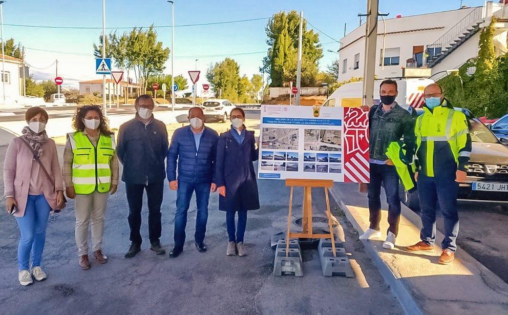 Obres Públiques finalitza les obres de millora de la seguretat viària en la CV-10 en el terme de La Salzadella