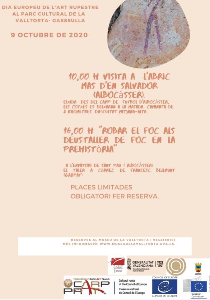 El Museu de la Valltorta de Tírig celebra el Dia Europeu de l'Art Rupestre