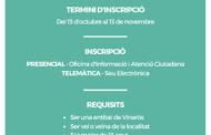 L'Ajuntament de Vinaròs obri el termini d'inscripció per al Consell de Festes
