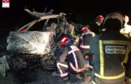 Accident de trànsit a Culla amb una persona morta