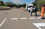 L'Ajuntament de Peníscola millora la senyalització viària en múltiples punts del municipi