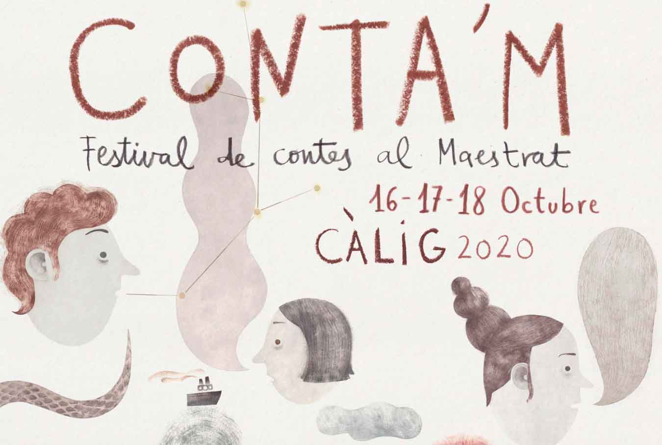 Arribaestecap de setmana el II Festival de Contes del MaestratConta'Ma Càlig
