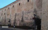 Amics de Vinaròs alerta que els esgrafiats de l'Arxiprestal poden