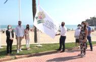 Peníscola; Celebració del Dia dels Pobles més Bonics d'Espanya  amb la hissada de la bandera 01-10-2020