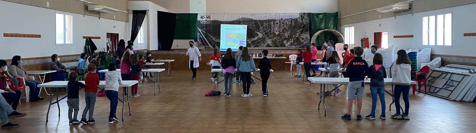 Ciència per a xiquets i xiquetes a Tírig