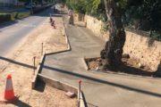 L'Ajuntament d'Alcalà-Alcossebre executa obres de millora d'accessibilitat i construcció i reparació de voreres