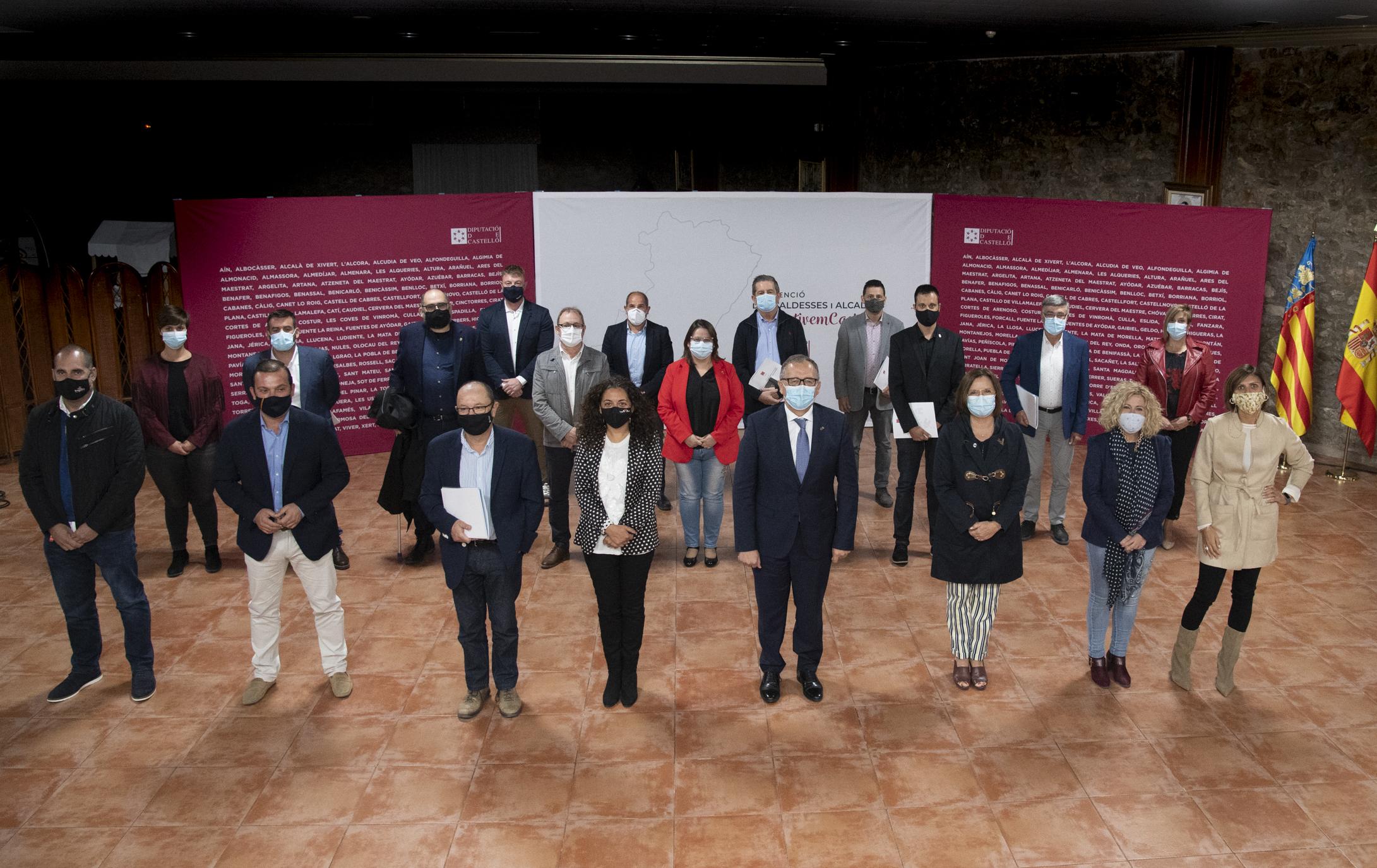 """Martí: """"Les aportacions de les més de 110 alcaldesses i alcaldes són el punt de partida per a la reconstrucció"""""""