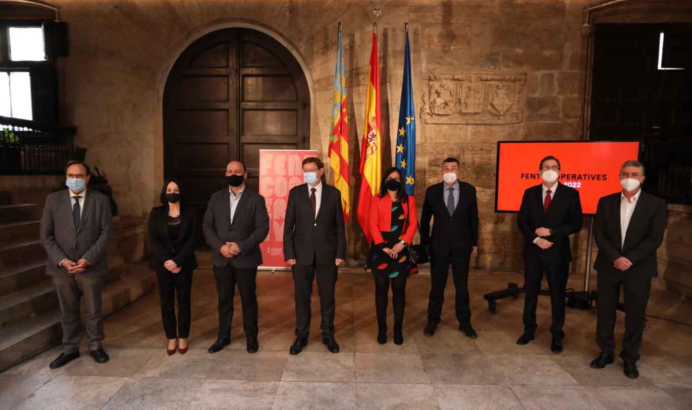 Puig destaca el segon pla biennal de suport al cooperativisme fruit de l'anàlisi profund i del diàleg