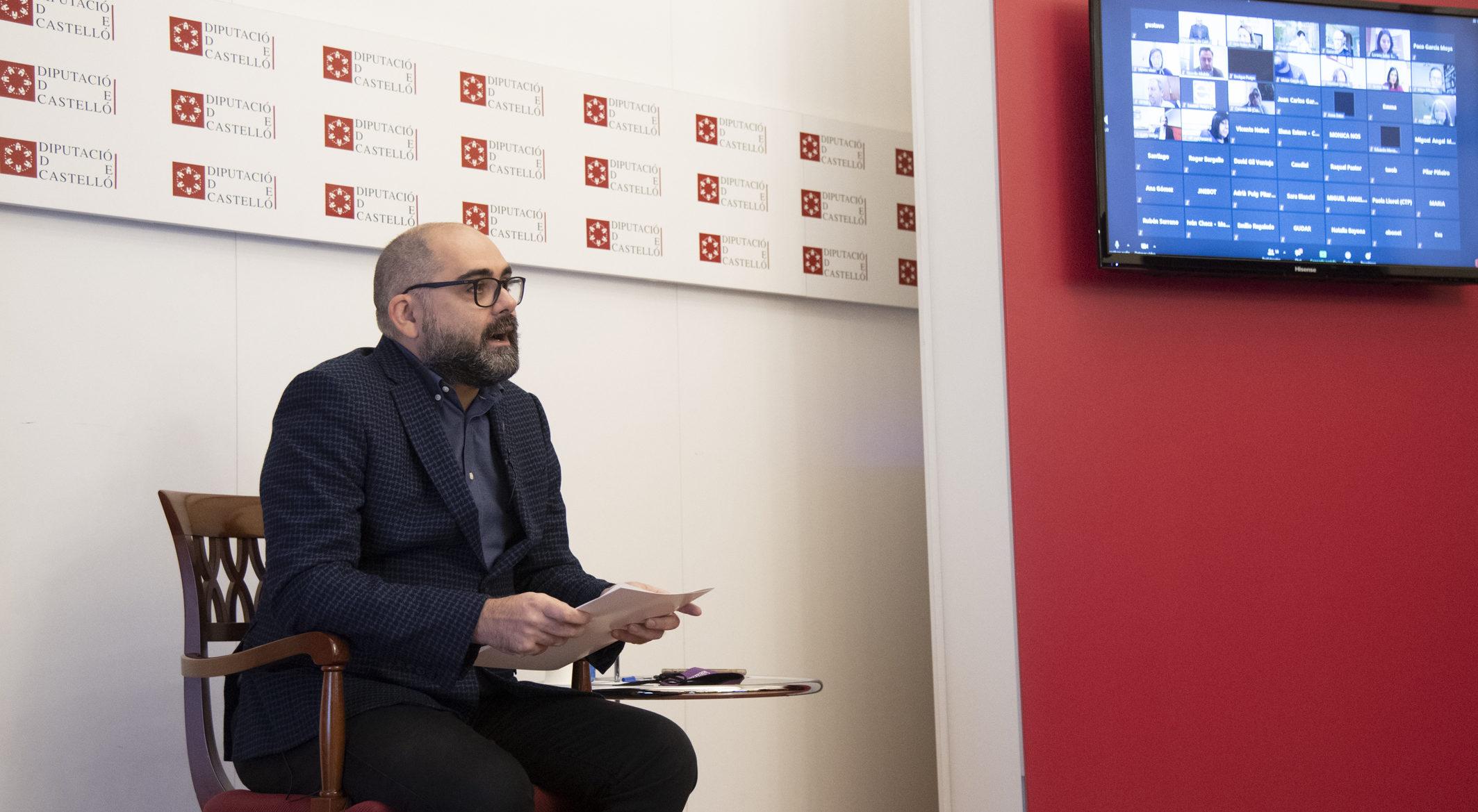Ferrando destaca l'aposta de la Diputació per Europa en el cicle sobre els fons europeus per a ens públics i privats