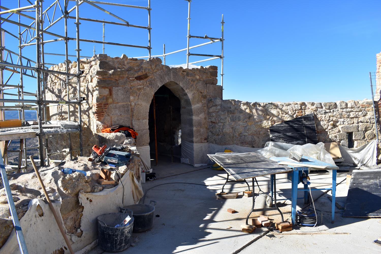 Avança la rehabilitació de les torres de Sant Francesc i La Pardala de Morella