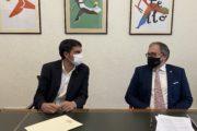 Martí iRipollés aborden els danys de l'Espai Firal i la remodelació del Colomer Zurita de Morella