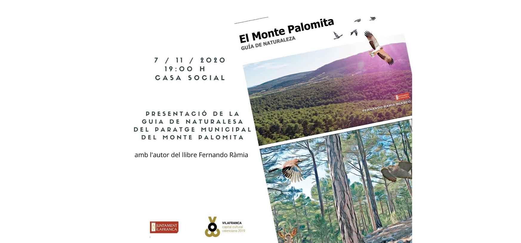 El MontePalomita de Vilafranca a l'abast de la mà amb una guia de naturalesa