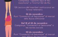 La reivindicació 25N a Alcanar s'adapta a la pandèmia