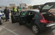 Denúncies múltiples a un conductor en una actuació conjunta entre les policies de Benicarló i Vinaròs