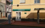 Santa Magdalena desinfecta les zones comunes més transitades