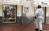 El Consorci Provincial de Bombers fa tasques de desinfecció a Santa Magdalena