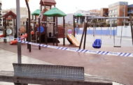 Els parcs infantils de Benicarló estaran tancats fins al 29 de novembre