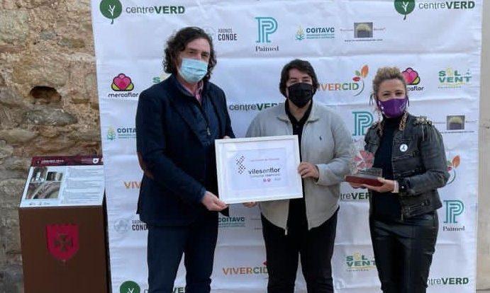 Les Coves rep el guardó de Viles en Flor Comunitat Valenciana per potenciar els espais verds urbans