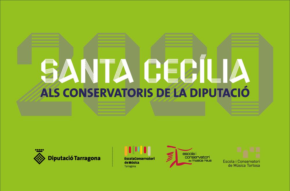 Els conservatoris de música de la Diputació celebren Santa Cecília amb concerts en format virtual