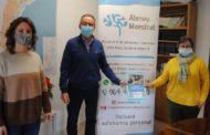 Alcalà-Alcossebre renova el conveni amb l'Associació de Dany Cerebral Adquirit Ateneu Maestrat