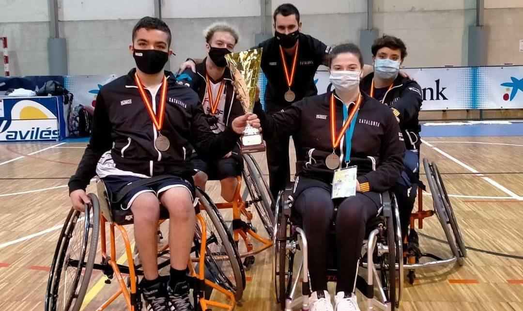 4 jugadors i l'entrenador d'Afaniad Vinaròs en la Selecció Catalana que es proclama subcampiona d'Espanya de bàsquet