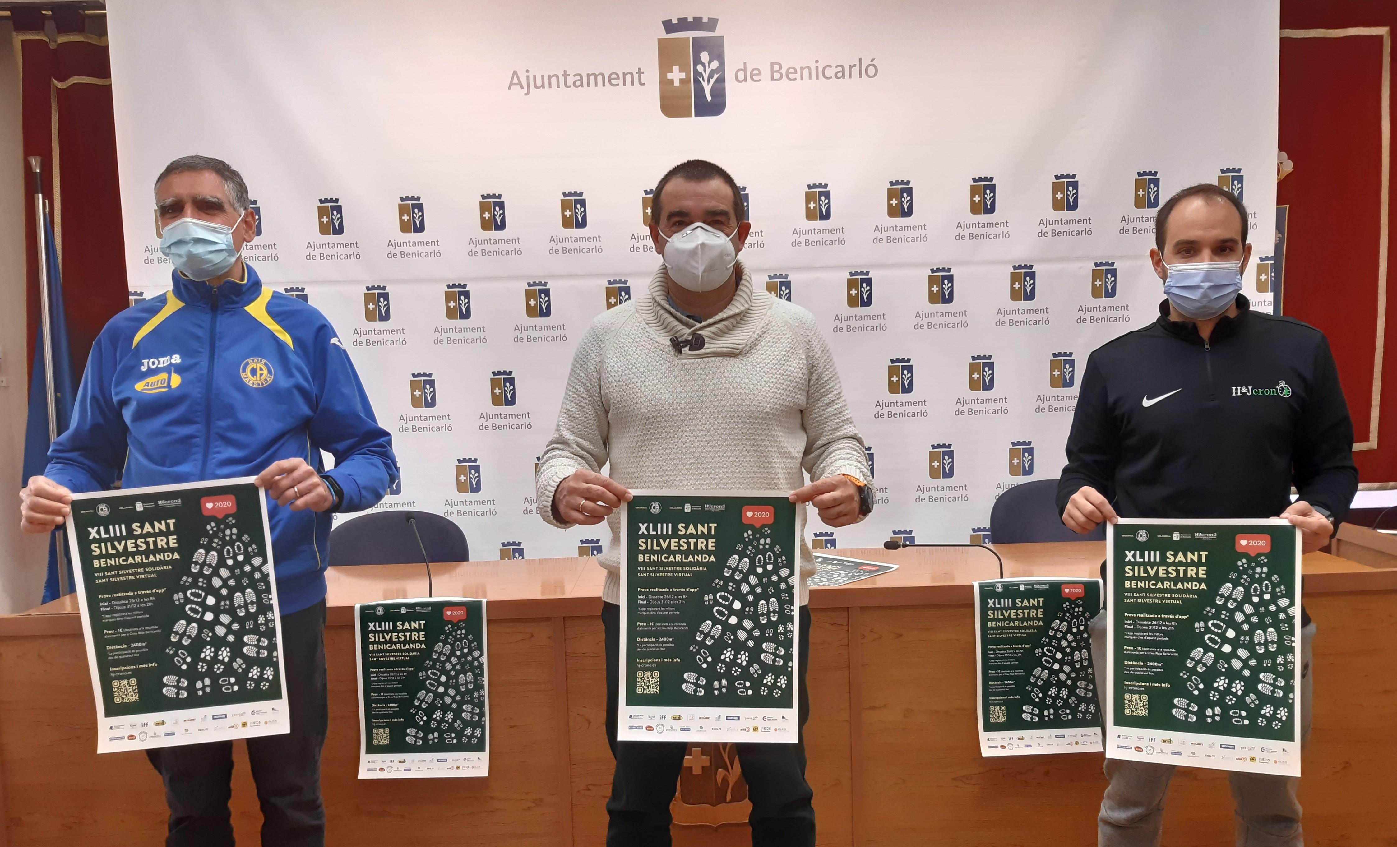 La Sant Silvestre de Benicarló serà virtual i mantindrà l'esperit solidari