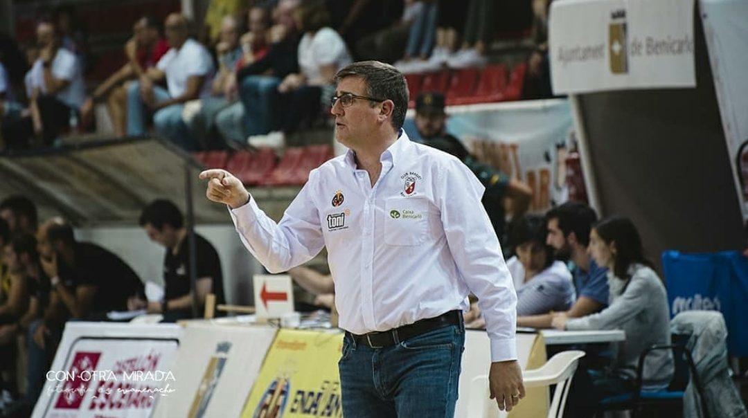 Mi Arquitecto C.B. Benicarló cessa a l'entrenador