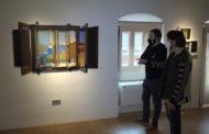Benicarló; Inauguració de l'exposicio «Umbrales», de Guillermo D. Celaya, al Museu de la Ciutat de Benicarló 18-12-2020