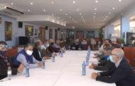 Peníscola; Reunió de l'alcalde de Peníscola, Barrachina i Bonig  amb el sector de l'oci nocturn i l'hostaleria 09-12-2020