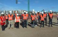 Vinaròs; El conseller Marzà visita  les obres del CEIP Jaume I de Vinaròs 21-12-2020