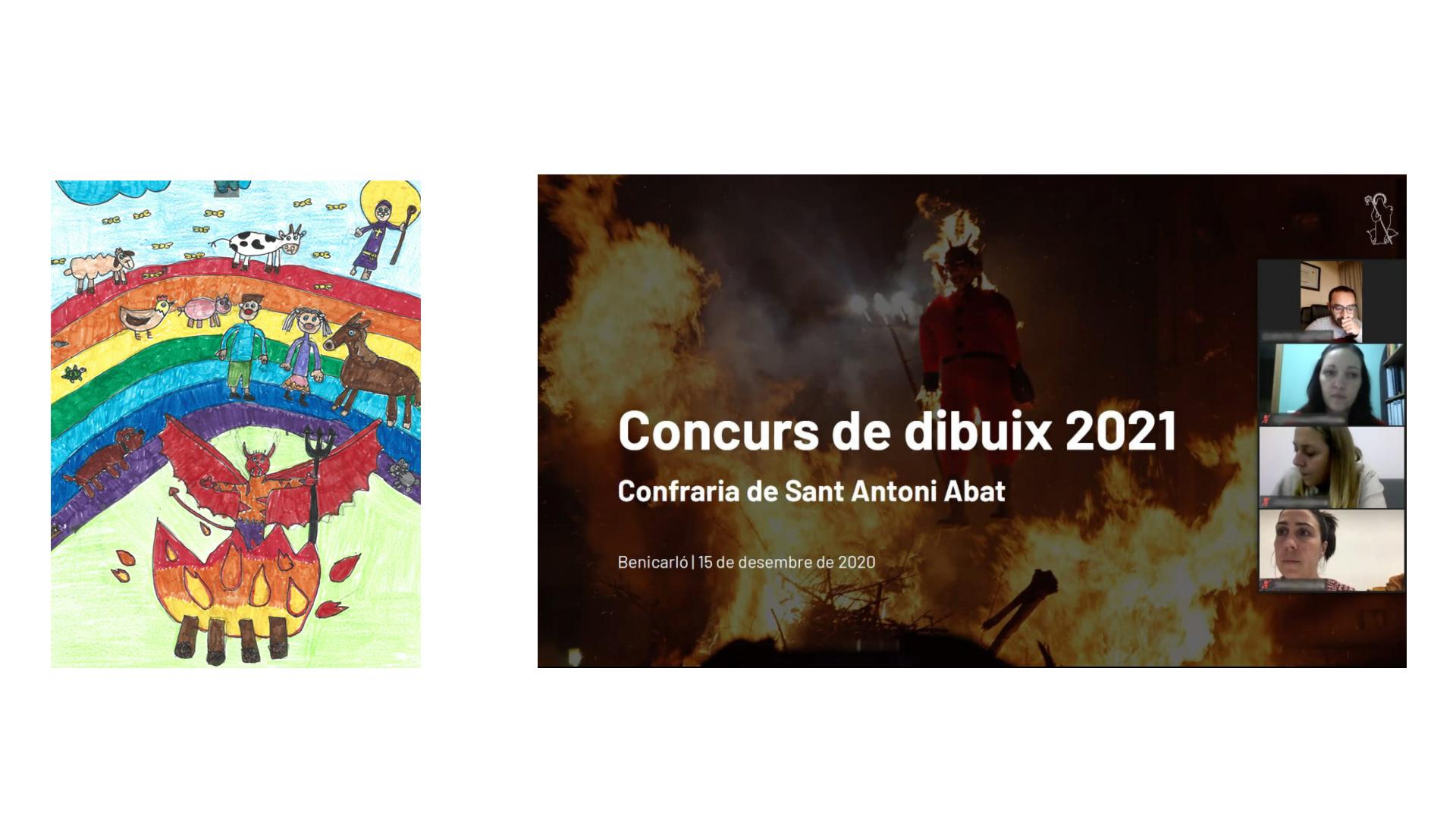 La Confraria de Sant Antoni de Benicarló dona a conèixer els guanyadors del Concurs de Dibuixos