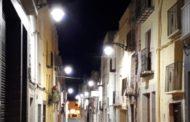 L'Ajuntament de Càlig finalitza el canvi de lluminàries de Joan Carles I, Constitució i La Raval