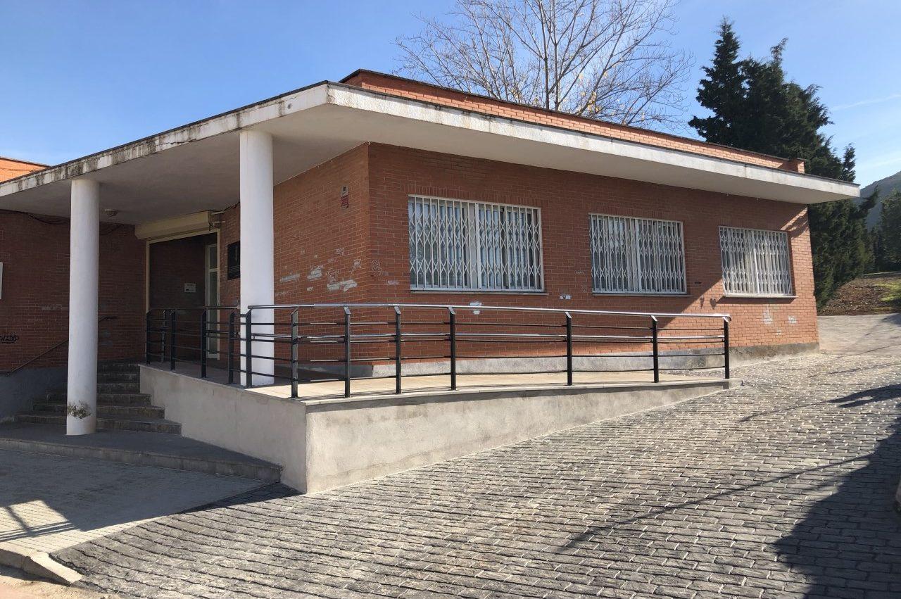 Finalitzen les obres de millora de l'accessibilitat del Consultori Mèdic de Santa Magdalena