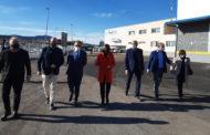 El president de la Diputació de Castelló visita les instal·lacions de Benihort de Benicarló