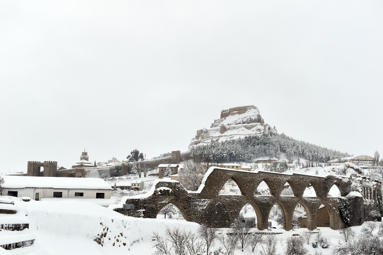 Morella suspén les classes demà dilluns a causa de la neu