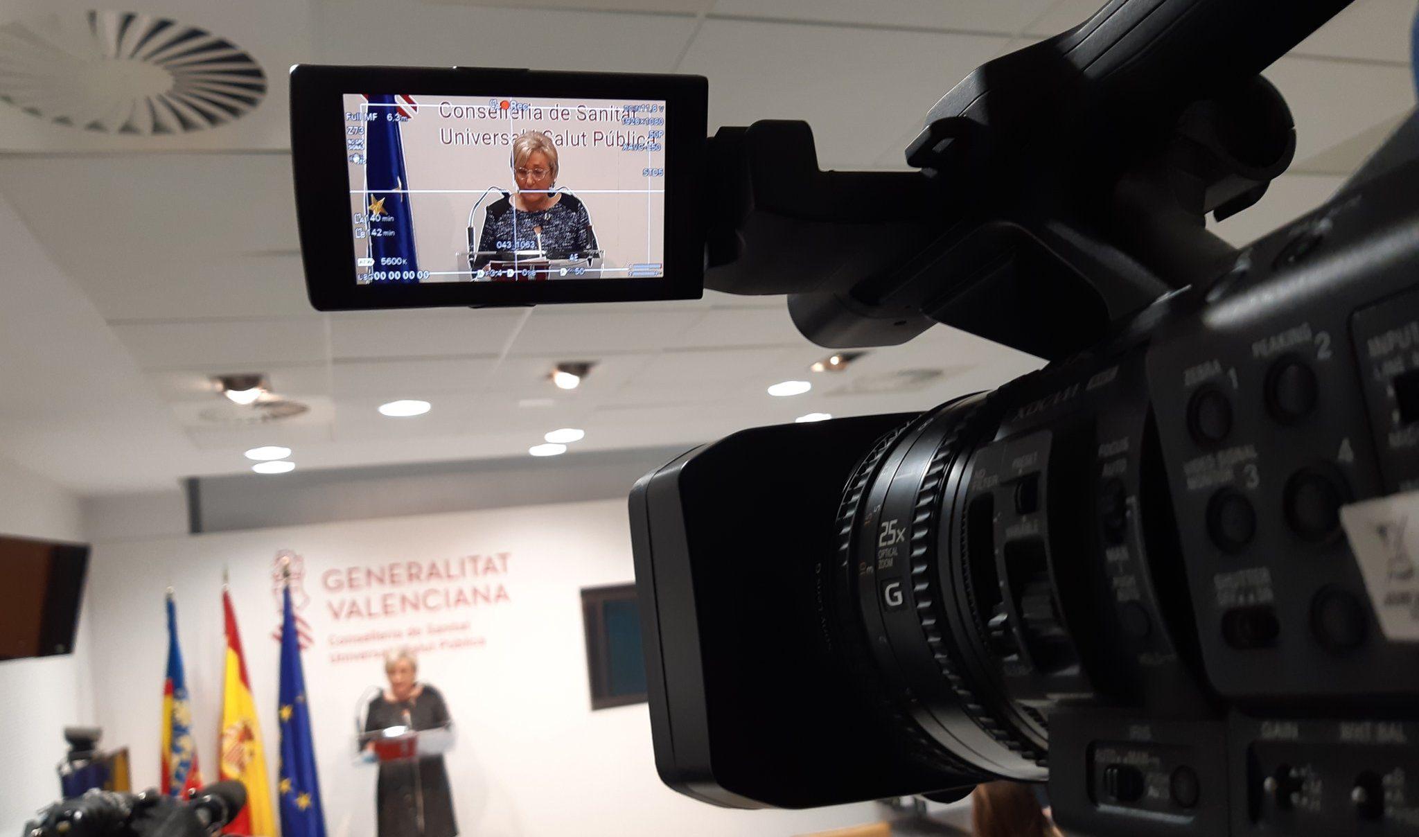 Barceló: 'La Comunitat ha administrat ja 48.583 dosis, un 80% de totes les que s'han rebut'
