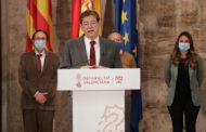 Puig presenta el 'Pla Resisteix' dotat amb 340 milions per a la reactivació 'urgent' dels sectors més afectats