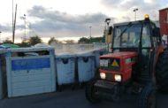 Continua la desinfecció diària d'espais públics i contenidors a Càlig