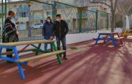 L'Ajuntament de Càlig millora l'entorn del pati del CEIPFelicindaCollell