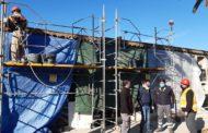 Comencen les obres de rehabilitació dels nínxols de la part antiga del Cementeri de Benicarló