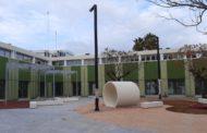 La nova Biblioteca Municipal Manel Garcia Grau de Benicarló 'pren forma'