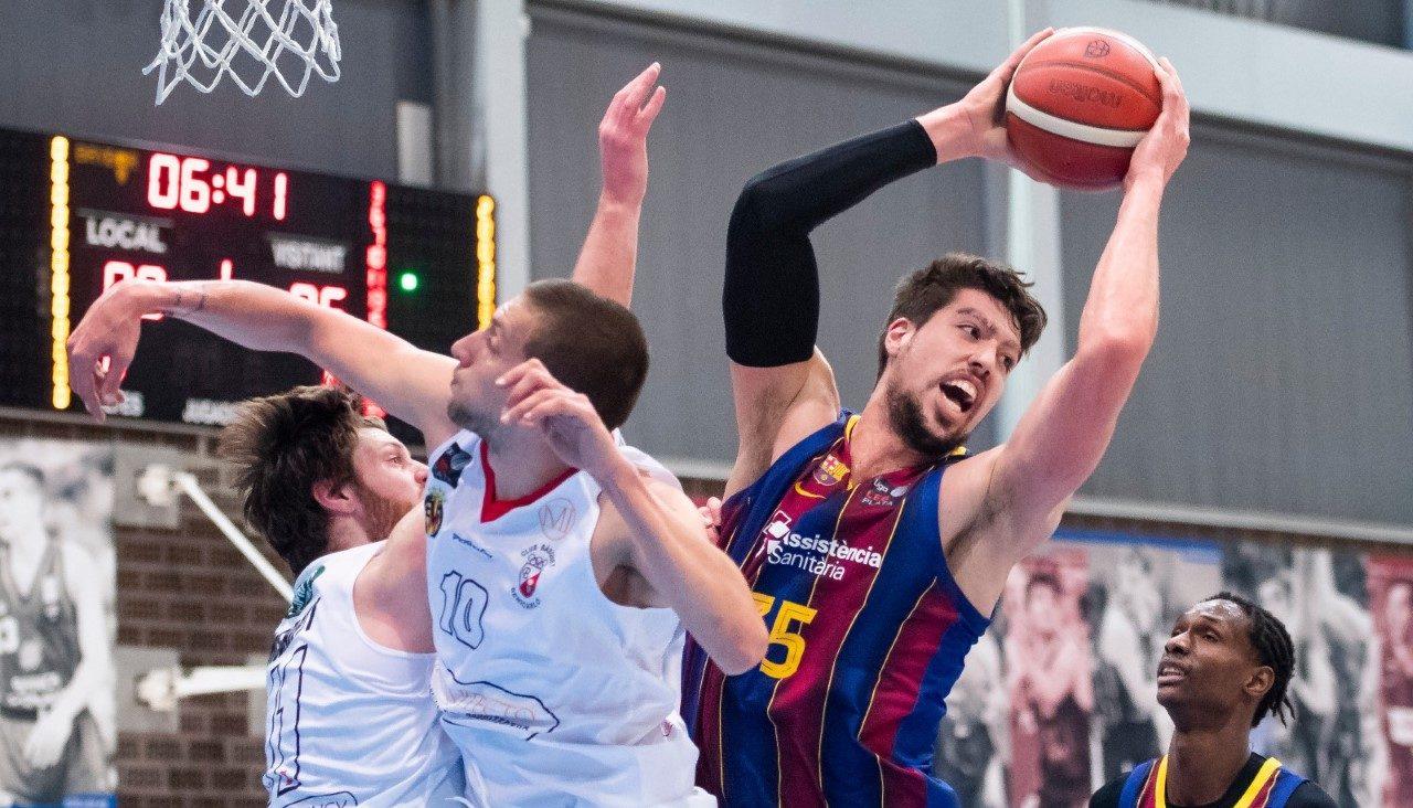 El Barça s'imposa davant de Mi Arquitecto C.B. Benicarló (67-57)